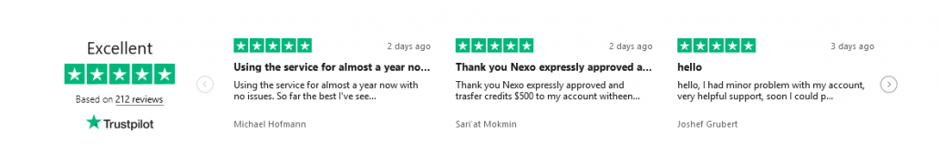 Nexo User Review