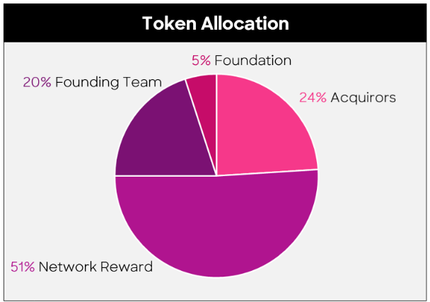 Ocean Protocol Token Allocation